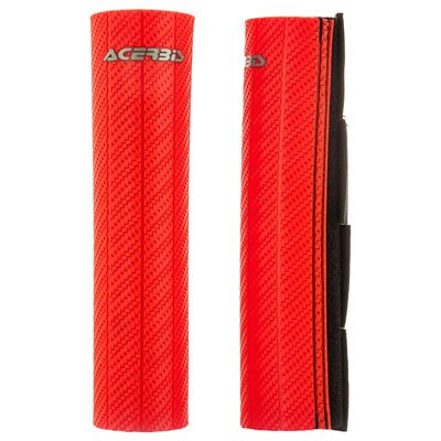 Acerbis Upper Fork Guards Red for Kawasaki KX250F 2004-2018