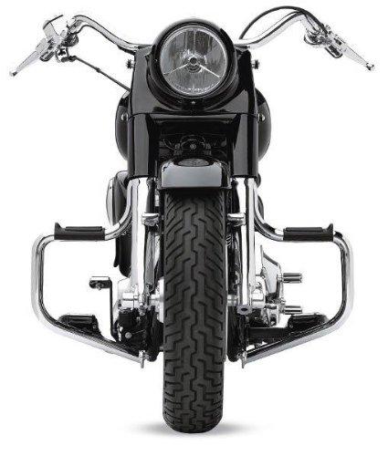 LINDBY 1310 Chrome Front Multibar Fits 2000-2016 Harley-Davidson Flst Softail Models