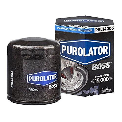 Purolator PBL14006 Black Single PurolatorBOSS Maximum Engine Protection Spin On Oil Filter