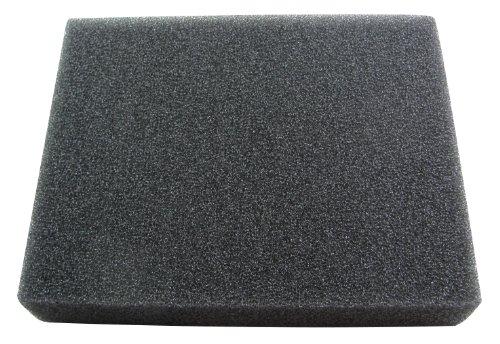 Uni Filter BF-3 8 X 10 X 2-Inch 30 PPI Black Coarse Foam  Skid Plate