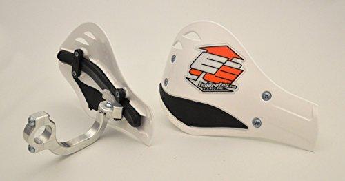 Enduro Engineering Solid Mount Moto Roost Deflector Handguards White 53-120