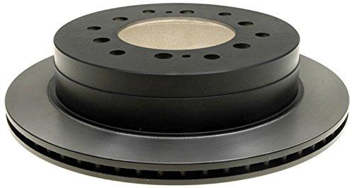 ACDelco 18A1227A Advantage Non-Coated Rear Disc Brake Rotor
