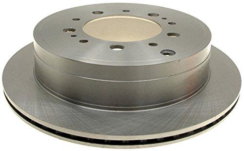 ACDelco 18A2572A Advantage Non-Coated Rear Disc Brake Rotor
