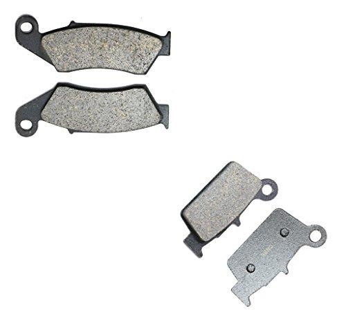 CNBK Semi Met Brake Shoe Pads Set for SUZUKI Dirt Bike RMX450 RMX 450 cc 450cc ZL0 10 11 12 2010 2011 2012 4 Pads