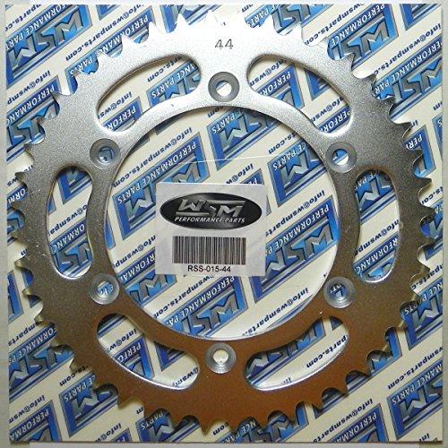 Suzuki Steel Rear Sprocket Moto-X RMX 250 1989-2017 DR 350 1990-1999 DRZ 400 2000-2009 2011-2017 RMX 450 2010 RMZ 450 2005-2017 44 Teeth RSS-015-44