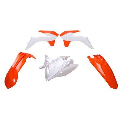 Acerbis Replica Plastic Kit 16 KTM Orange for KTM 500 XC-W 2014-2016