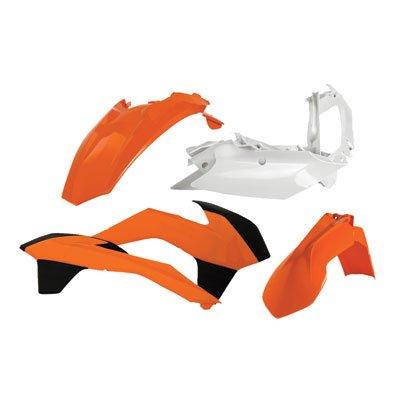 Acerbis Replica Plastic Kit White for KTM 500 XC-W 2014-2016