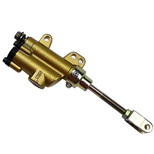 ZXTDR 8mm Hydraulic Rear Brake Master Cylinder for 50cc 110cc 125cc Pit Dirt Bike ATV
