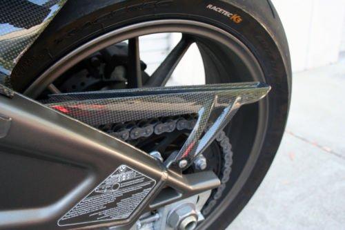 2009 - 2017 BMW S1000R  S1000RR Carbon Fiber Fibre Rear Sprocket Chain Guard Cover Fairing