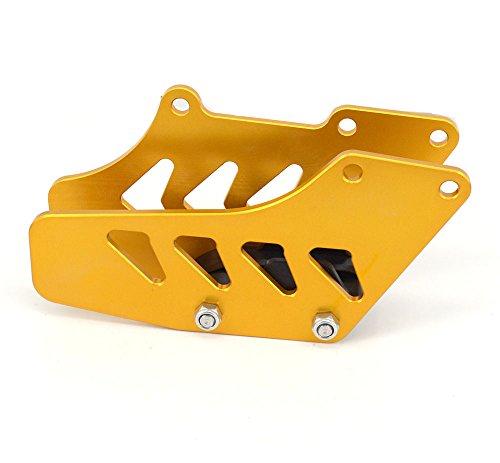 JFG RACING CNC Rear Aluminum Chain Guide Guard For SUZUKI RM125 250 RMZ250 450 RMX DRZ400S