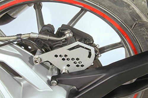 Rear brake caliper cover guard silver BMW R1200GS 2013 R1200GS Adventure 2014 2015 2016 2017 R1200R 2015 R1200RS R1200RT 2014