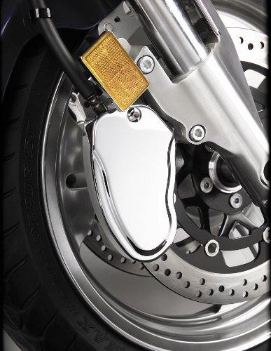 Show Chrome Caliper Cover Right FRT Stepped for Honda VTX1300
