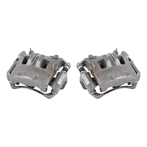 CCK11307 2 FRONT Premium Grade OE Semi-Loaded Caliper Assembly Pair Set