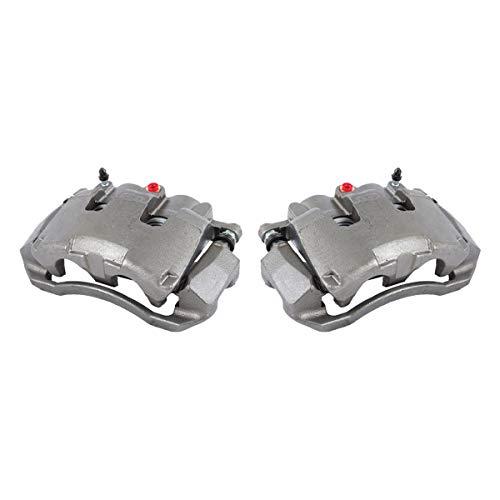CCK11670 2 FRONT  2WD 4WD  Premium Grade OE Semi-Loaded Caliper Assembly Pair Set