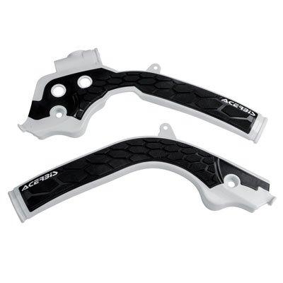 Acerbis X-Grip Frame Guards WhiteBlack for Husqvarna FX 350 2017-2018