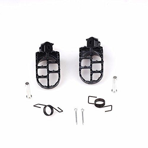 Aluminium Foot Pegs For Honda CRF50 70 100F XR TW200 pit dirt bike Footrest