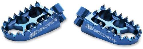 Scar Racing Evolution Racing Footpegs - Blue S3515B