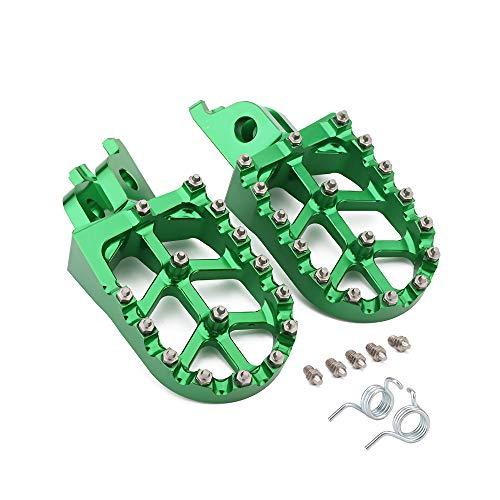 Motorcycle Foot Pegs Rest Pedal Footpegs For Kawasaki KX250F 2006-2018 KX250 KX450 19 KX450F 2007-2018 KLX450R 2008-2013 Dirt Bike