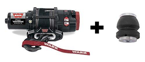 Warn Winch ProVantage 2500 Synthetic Kit Includes Heavy Duty Winch Saver