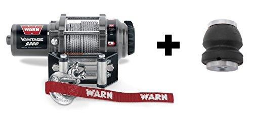 Warn Winch Vantage 2000 Kit Includes Heavy Duty Winch Saver