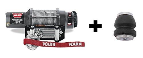 Warn Winch Vantage 4000 Kit Includes Heavy Duty Winch Saver