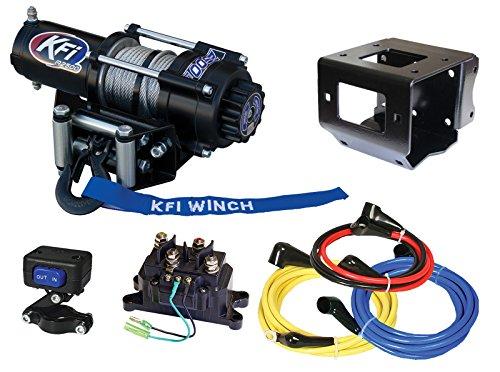 KFI Combo Kit - A2500-R2 Winch Mount Kit - 2011-2014 Polaris Sportsman 400