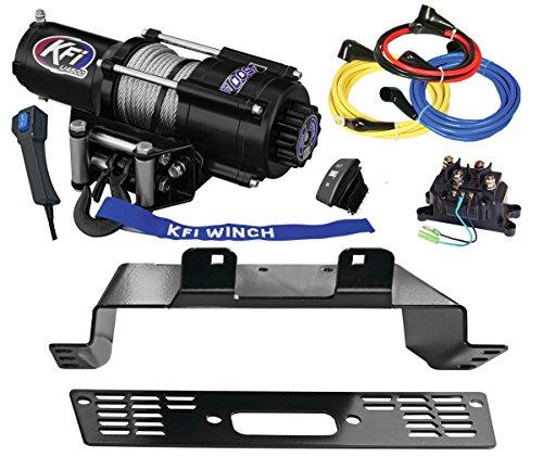 KFI U45-R2 Winch Mount Combo Kit - 2014-2018 Polaris 570 Ranger 4x4 - Midsize