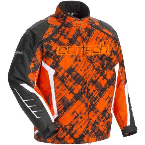 Cortech Blitz 20 Mens Skiing Snowmobile Jacket - OrangeBlack  X-Large