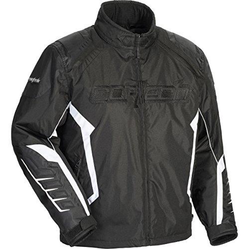 Cortech Blitz 21 Mens Snowboard Snowmobile Jacket - BlackBlack  X-Large