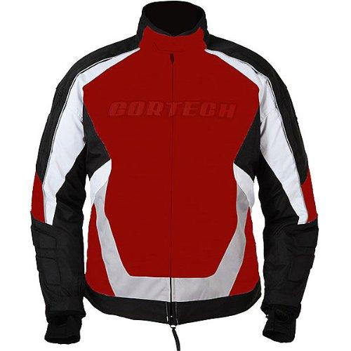 Cortech Blitz Mens Ski Snowmobile Jacket - RedBlack  Large