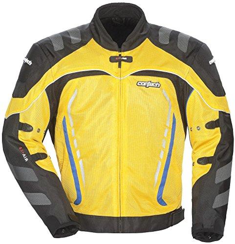 Cortech GX Sport Air 3 Mens YellowBlack Mesh Jacket - 2X-Large