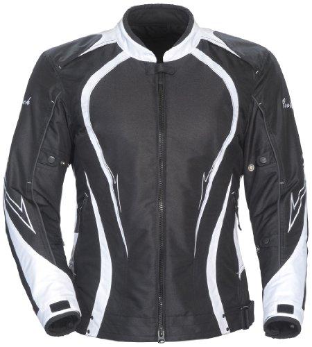 Cortech LRX Series 3 Womens BlackWhite Textile Jacket - Plus Large