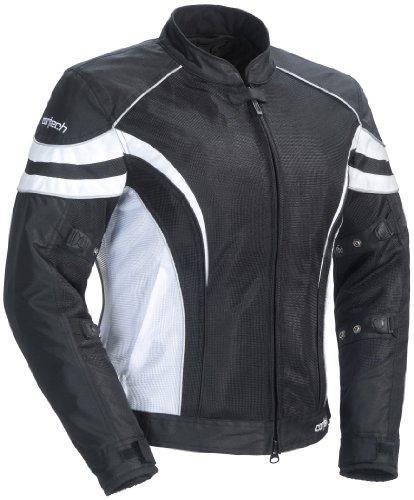 Cortech LRX Air 2 Womens BlackWhite Mesh Jacket - X-Large