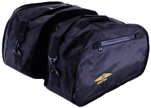 Bestem LGHO-ST11H-SDL PanEuropean Black Saddlebag Sideliners for Honda ST1100 Pair