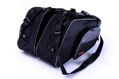 Bestem LGHO-ST13H-SDL Black Saddlebag Sideliners for Honda ST1300 Pair