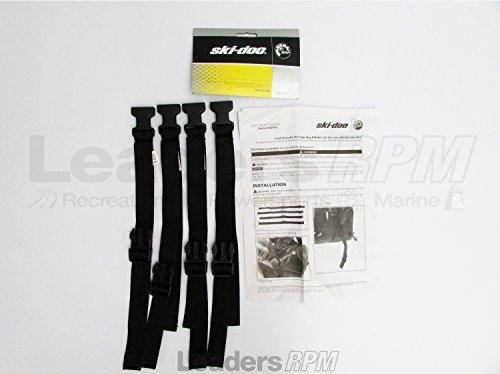 Ski-Doo New OEM LinQ Cargo Bag Retrofit Tie Down Strap Buckle Kit 860200941