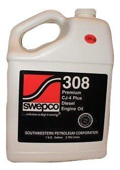 Swepco 308 15w40 Premium CJ-4 Plus Diesel Engine Oil Gal