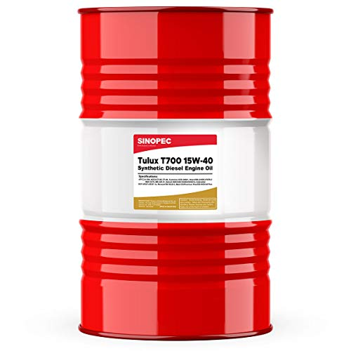 Tulux T700 15W40 CK-4 Synthetic Diesel Engine Oil - 55 Gallon Drum 1