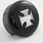 Bkrider-4-5-8-Black-Horn-Cover-With-Chrome-Maltese-Cross-Insert-For-Harley-davidson11.jpg