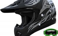 ATV-Motocross-Helmet-Dirt-Bike-Motorcycle-A81-Matt-Black-green-goggles-gloves-L-27.jpg