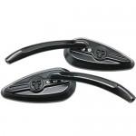 Black-3D-Skull-TearDrop-Mirrors-for-2003-Harley-Davidson-Road-King-FLHR-32.jpg
