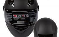 RISE-Matte-Black-Motorcycle-Helmet-w-Free-Smoke-Visor-Lightweight-Full-Face-DOT-Small-42.jpg
