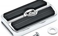 Krator-Chrome-Brake-Pedal-Pad-Cover-Black-NonSlip-Rubber-For-Harley-Davidson-FL-Softail-Models-1986-2015-38.jpg
