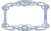 Polished-Stainless-Chrome-Motorcycle-License-Plate-Frame-Tattoo-Skull-Skeleton-Skull-1-Piece-Ferreus-Industries-LIC-112-23.jpg