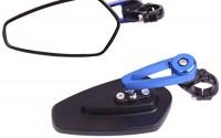 Arrow-Bar-End-View-Mirrors-with-Blue-stem-for-2005-Harley-Davidson-Softail-Deuce-FXSTD-11.jpg